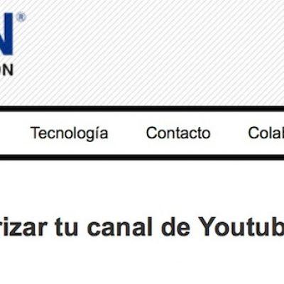 Artículo: «Cómo monitorizar tu canal de Youtube con Google Analytics»