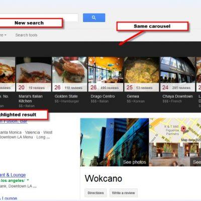 Google Local Carousel Results: qué es y cómo funciona esta herramienta