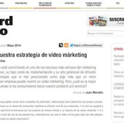 """Artículo: """"Cómo enfocar nuestra estrategia de video marketing"""""""