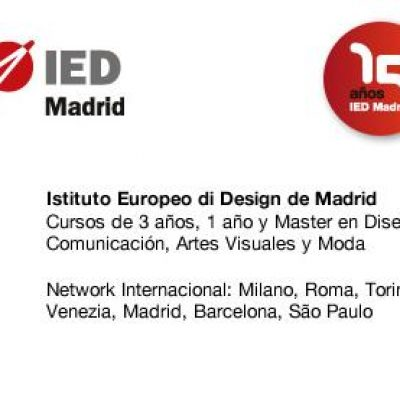 Advertising Case Study en Facebook Ads de la Escuela de Diseño IED Madrid