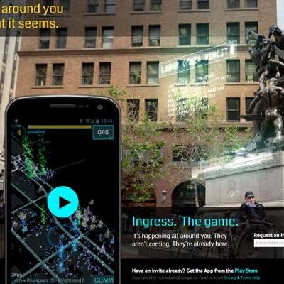 Ingress, el Nuevo Juego de Google que Usa Realidad Aumentada y Geolocalización