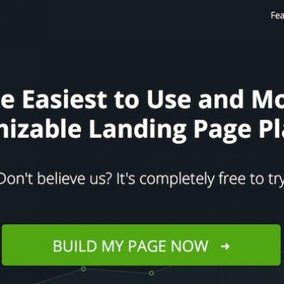 Instapage, crea landing pages para tus campañas de una manera sencilla