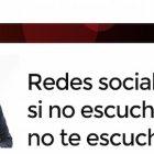 """Artículo: """"Redes sociales y empresa: si no escuchas, no te escucharán"""" - Juan Merodio"""