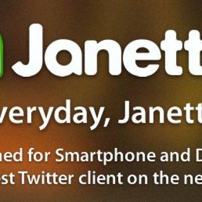 Janetter, Un Posible Sustituto a TweetDeck para la Gestión de Twitter