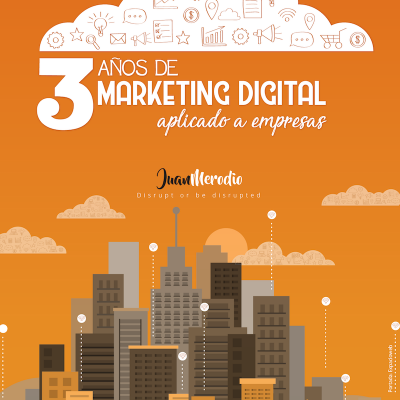 "Ebook Gratuito ""3 Años de Marketing Digital aplicado a empresas"""