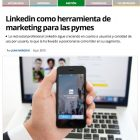 """Artículo: """"Linkedin como herramienta de marketing para las PYMES"""" - Juan Merodio"""