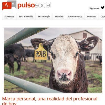 Artículo: «Marca personal, una realidad del profesional de hoy»