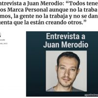 Todos tenemos marca personal, aunque no la trabajemos - Juan Merodio