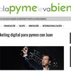 "Entrevista: ""Claves del marketing digital para PYMES"" - Juan Merodio"
