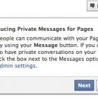 Facebook está probando un Nuevo Servicio de Mensajes Privados entre Páginas de Fans y Usuarios - Juan Merodio