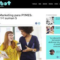 """Artículo: """"Fusión Marketing para PYMES: cuando 1+1 suman 5"""" - Juan Merodio"""