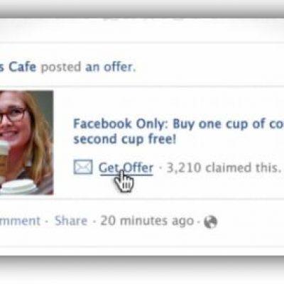Facebook Lanza el Servicio de Cupones Gratuito para Empresas Locales