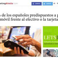 """Entrevista: """"El 45% de los españoles pagarían con su teléfono móvil"""" - Juan Merodio"""