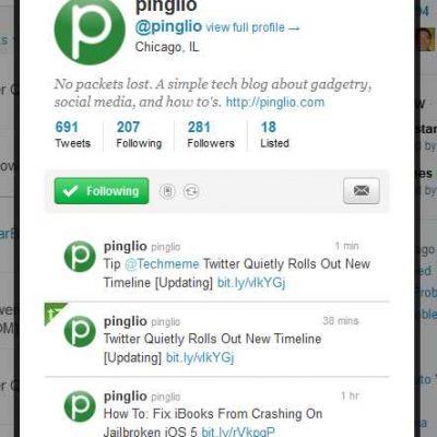 Twitter está haciendo pruebas para lanzar un nuevo Timeline