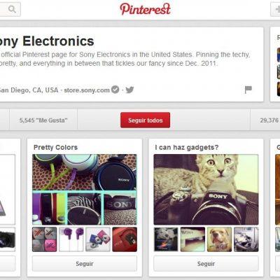 Cómo Sony Electronics Usa Pinterest y el Email Marketing para Mejora la Relación con los Usuarios