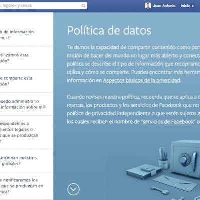 Qué información captura Facebook sobre ti y el resto de usuarios