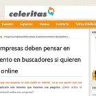 """Artículo: """"Por qué las empresas deben pensar en posicionamiento en buscadores si quieren rentabilidad online"""" - Juan Merodio"""