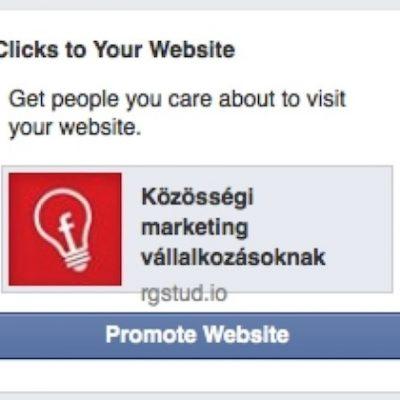 Facebook testea anuncios directos para generar tráfico a tu web