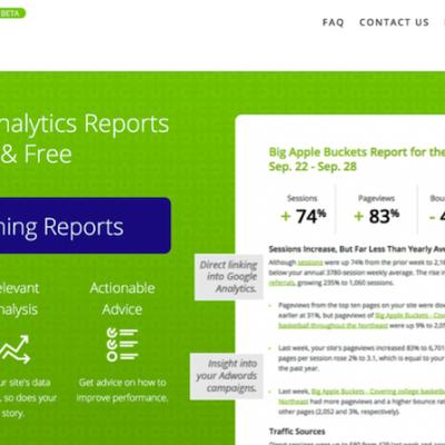 Quill Engage: convierte a texto los resultados de Google Analytics