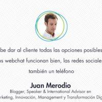 """Entrevista """"Las redes sociales funcionan, pero también un teléfono"""" - Juan Merodio"""