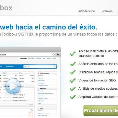 SISTRIX, una Herramienta para Analizar el SEO de tu Web