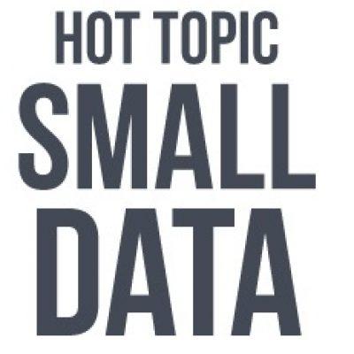 """Entrevista: """"Small Data, los pequeños datos hacen grandes cambios"""""""