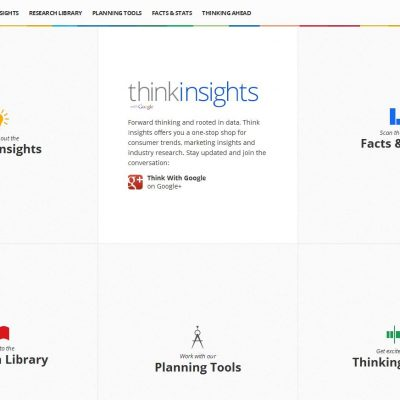 Google Think Insights: datos para analizar tendencias de consumo