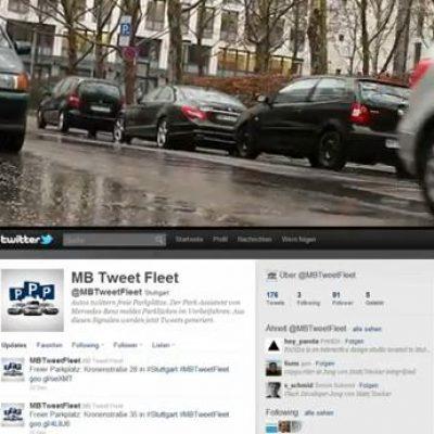 Tweet Fleet,: Servicio basado en Twitter para buscar Aparcamiento