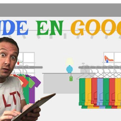 Vendiendo productos online en el buscador de Google