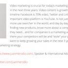 El Contenido en Video es Clave en tu Marketing Digital en 2018 - Juan Merodio