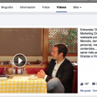Videos destacados y listas de reproducción en tu página de fans de Facebook - Juan Merodio