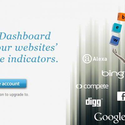 Webmastat: analiza en un panel la información de tu web o blog