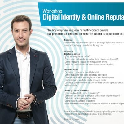 "Workshop ""Digital Identity & Online Reputation"" en Madrid"