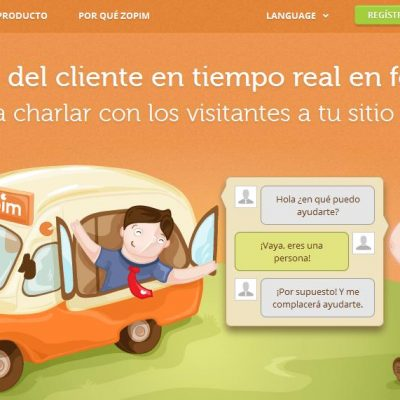 Zopim, Un Sistema de Atención al Cliente a Tiempo Real en tu Web