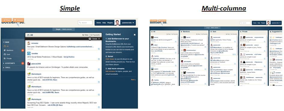 Bottlenose: gestiona y filtra contenido relevante en redes sociales - Juan Merodio