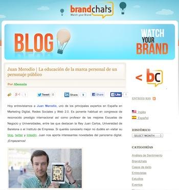Entrevista: La Educación de la Marca Personal de un Personaje Público - Juan Merodio