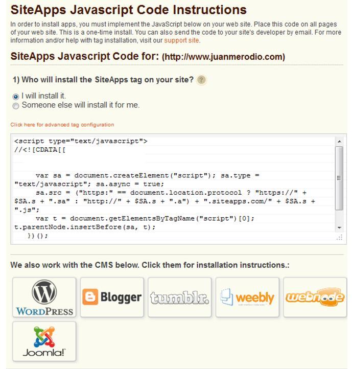 SiteApps: analiza y mejora tu web para mejorar tu negocio y tus ventas - Juan Merodio