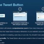 Twitter introduce su propio botón de compartir