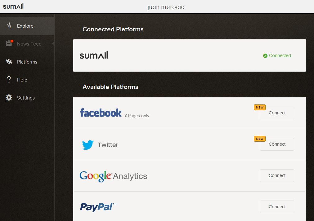 SumAll: mide los Resultados de tu Negocio en las Redes Sociales - Juan Merodio