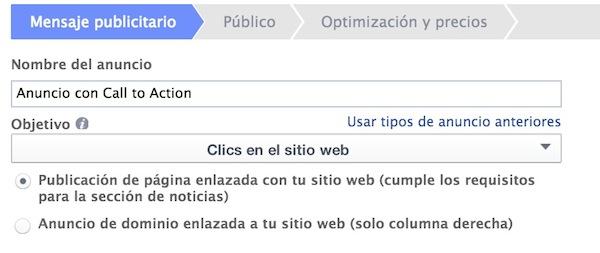 Optimiza tus anuncios en Facebook Ads con llamadas a la acción - Juan Merodio