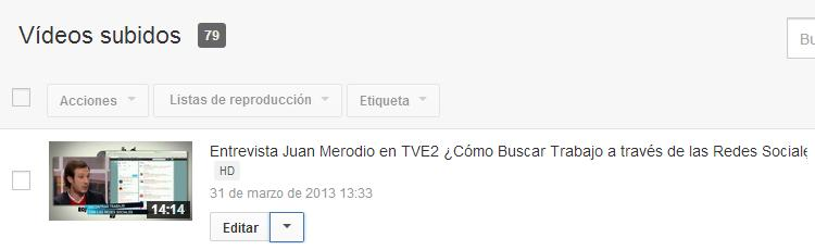 Pon etiquetas en los videos de YouTube que lleven a un enlace externo - Juan Merodio