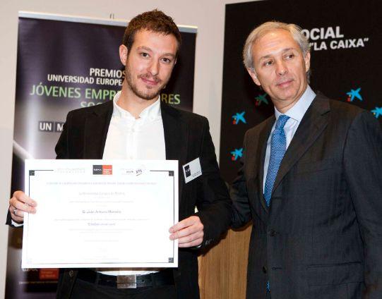 EllasDenuncian.com consigue el Premio Emprendedores Sociales de la UEM - Juan Merodio
