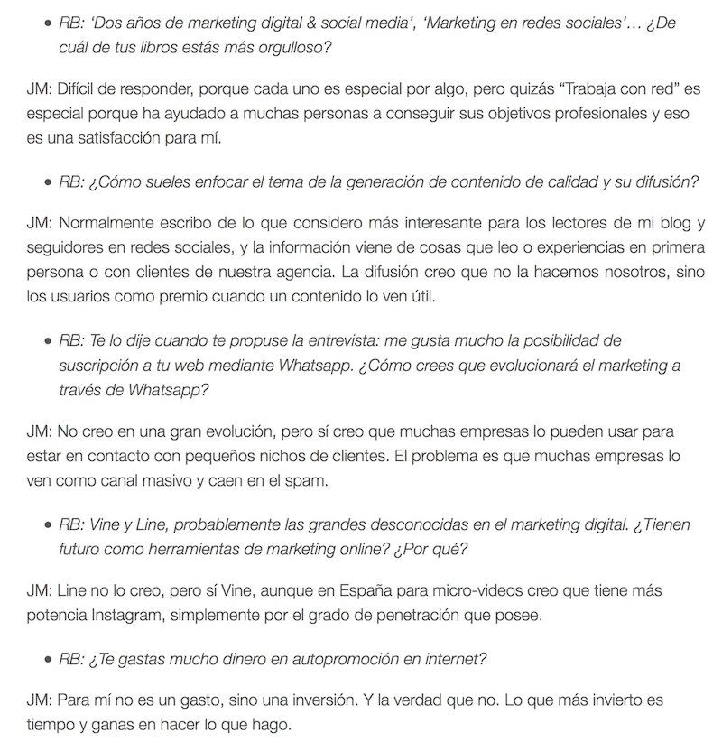 """Entrevista: """"La desaparición de Facebook será real"""" - Juan Merodio"""