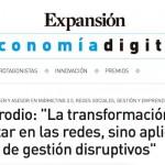 """Artículo: """"La transformación digital no es estar en las redes, sino aplicar modelos de gestión disruptivos"""""""
