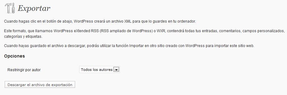 exportar-blog-wordpress