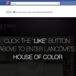 Lancome lanza una aplicación interactiva para Facebook