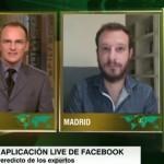 "Entrevista en CNN: ""Llega Live, el Periscope de Facebook"""