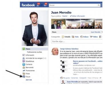 App para crear un sistema de foros en tu página de fans de Facebook - Juan Merodio