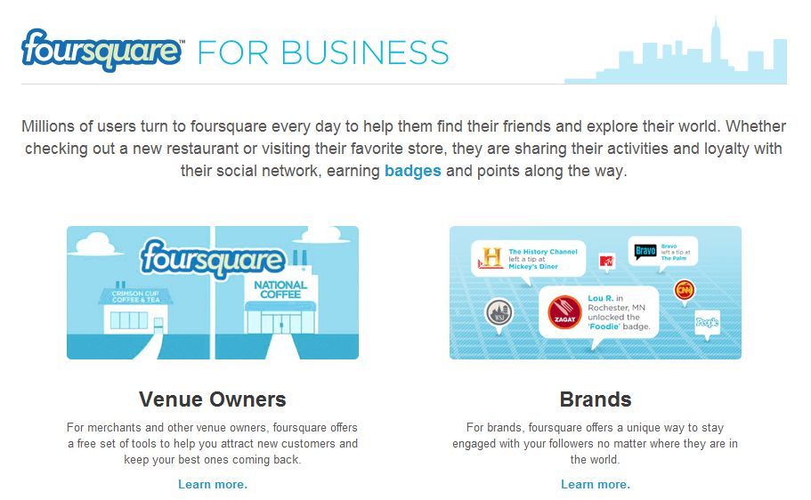 foursquare-business