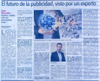 """Entrevista: """"El futuro de la publicidad"""" - Juan Merodio"""